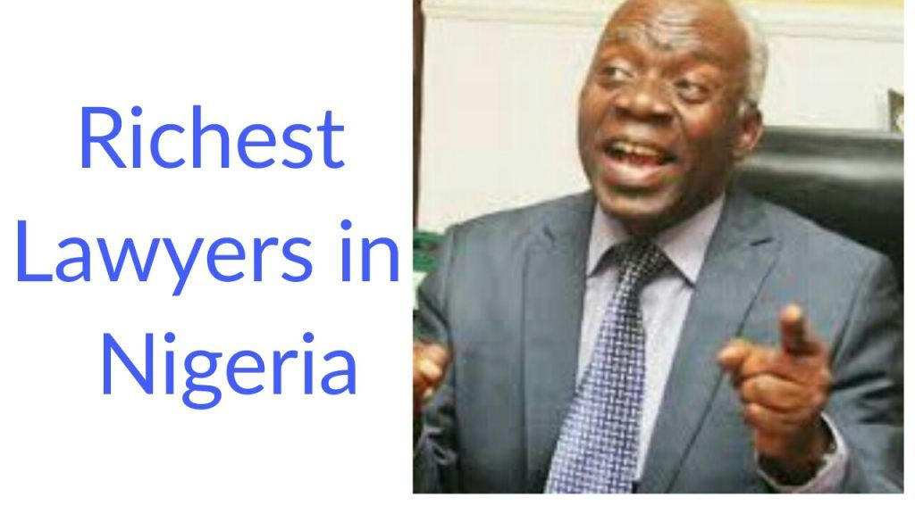 Most successful richest lawyers in Nigeria