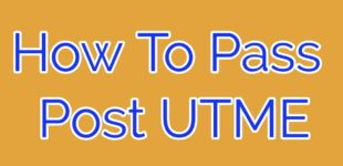 how to prepare for post UTME