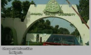 which university is the cheapest in Nigeria