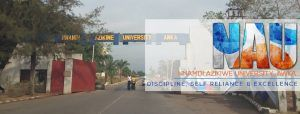 Nnamdi Azikwe University Unizik admission list
