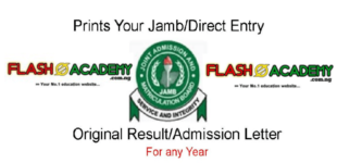 How to print jamb admission letter