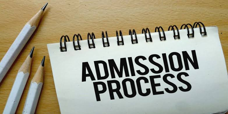 Meaning of Admission in progress, Sorry no admission given yet, Process