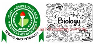 JAMB biology Questions and Answers