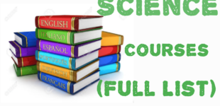 Science-courses-offered